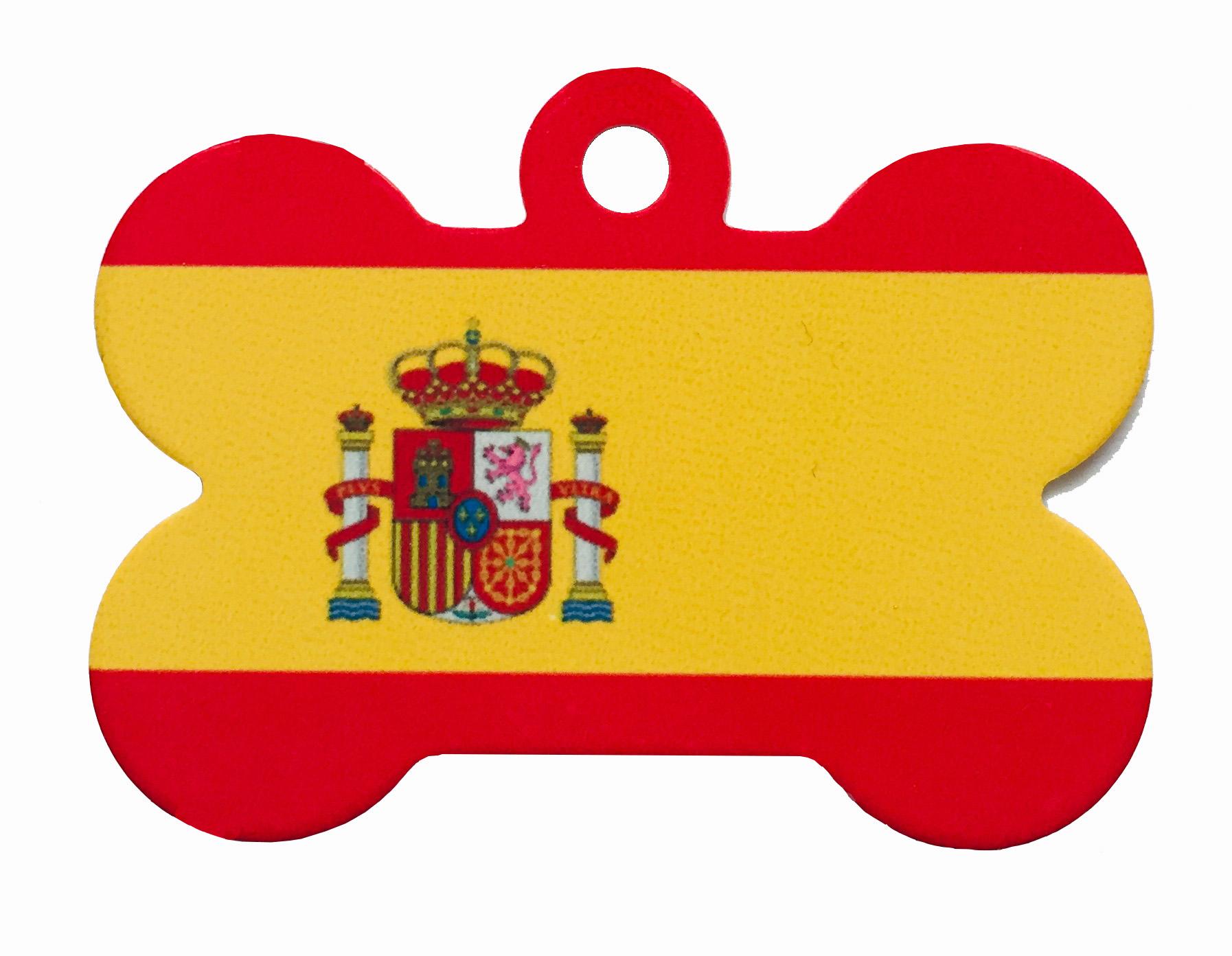 Placa Bandera de España - Tres modelos